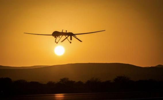 drone in africa