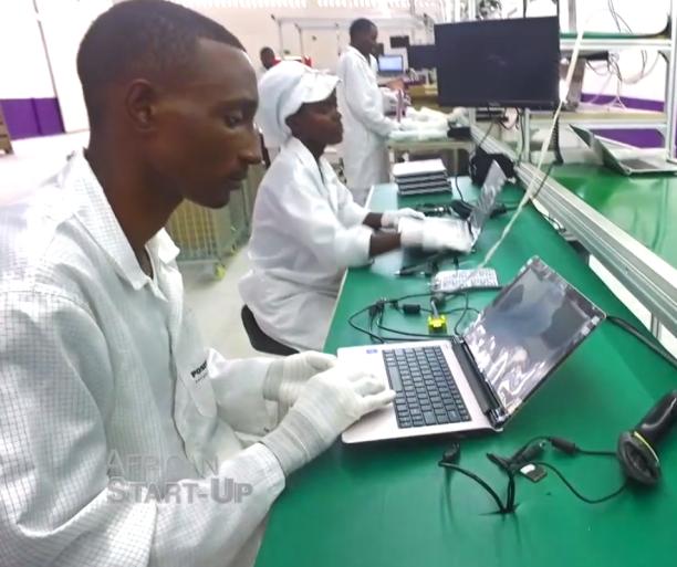 Rwandan computer manufacture