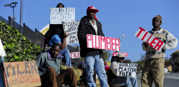 Unemployed in South Africa