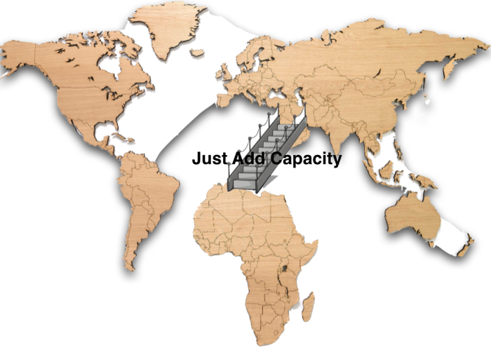 Did you know Africa is in desperate need of capacitybuilding?