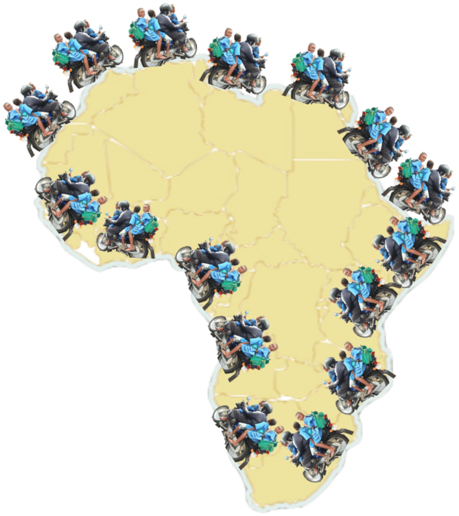 Did you know Africa's transport system has beendisrupted?