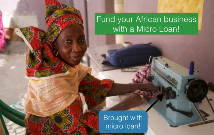 Did You Know African small business owners can access micro loans worldwide?