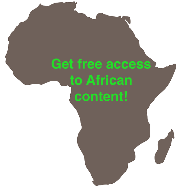 Did You Know Africa can now access African content forfree?