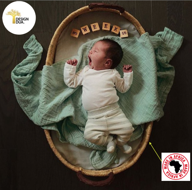 #DidYouKnow babies all over the world are sleeping in African basinets?
