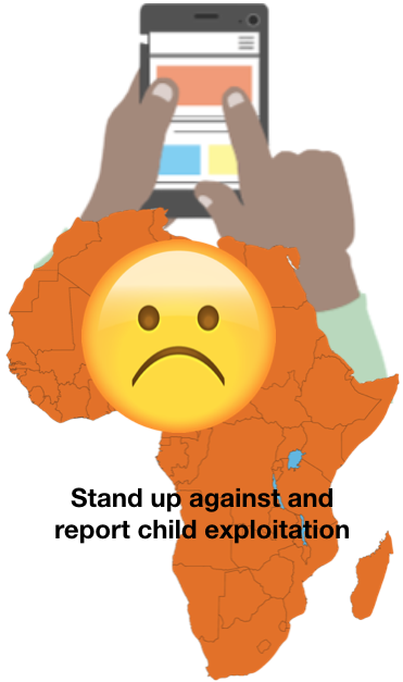 Did You Know kids in Africa can report their abusers using an App?