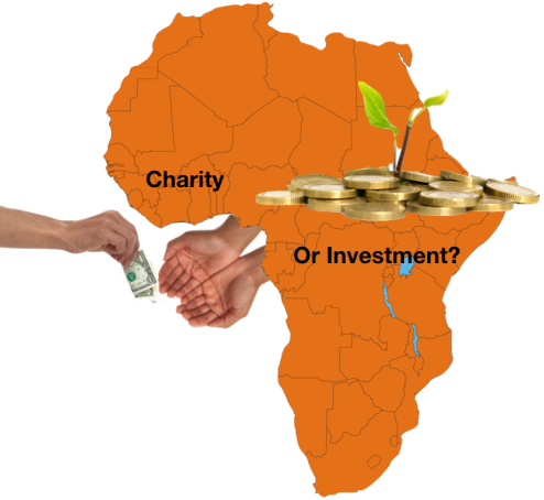charity or investment africa
